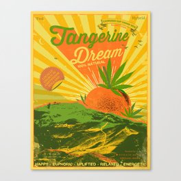 TANGERINE DREAM Canvas Print