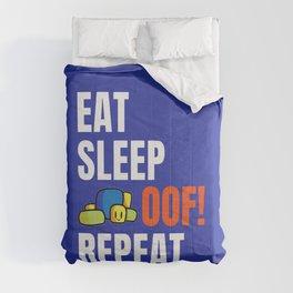 Roblox OOF Eat Sleep Oof Repeat Comforters