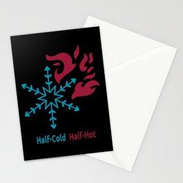 Half-Cold Half-Hot V2 Stationery Cards