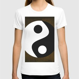 Yin and Yang - Brown T-shirt