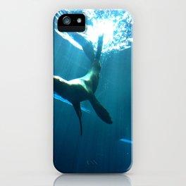 Underwater backflips iPhone Case