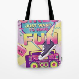 Girls Fun Tote Bag