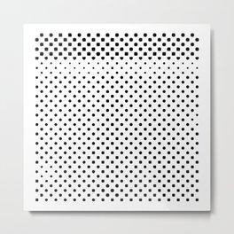 poka dot pixels Metal Print