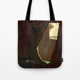 treehouse Tote Bag