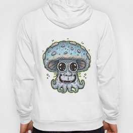 Blue Tentacle Toadstool Hoody