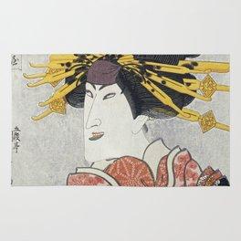 Utagawa Kunisada - Nakamura Matsue III Rug