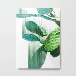 Faster than the speed of CACTUS Metal Print