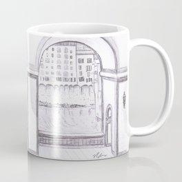 Florence River Drawing Coffee Mug