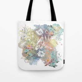 Waterlilly Days Tote Bag