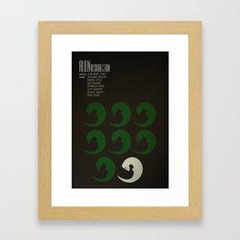 Alien Resurrection Framed Art Print