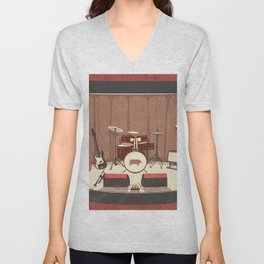Barrel Rock Unisex V-Neck