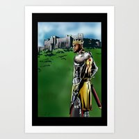 lebron Art Prints featuring LeBron James, Return of the King by PointsInThePaint