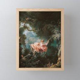 The Swing Framed Mini Art Print