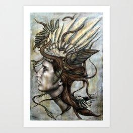 Daedalus' Daughter Art Print