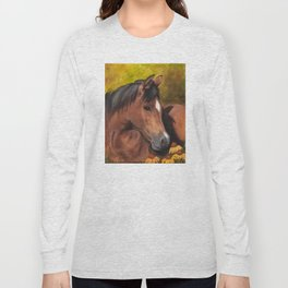Little Brown Filly Long Sleeve T-shirt