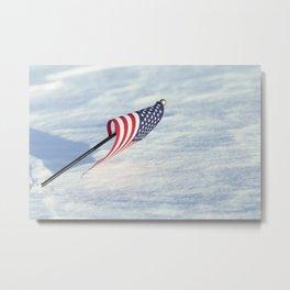 American Flag 6 Metal Print