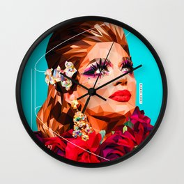 Latin drag Wall Clock