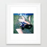 acdc Framed Art Prints featuring acdc ii by galatea