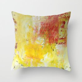 Scratchy Throw Pillow