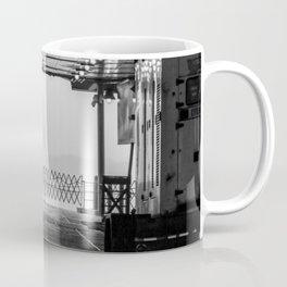Liberty Through The Boat Coffee Mug