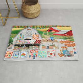 Autumn Quilts Rug