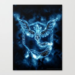 Team Mystic - Articuno Canvas Print