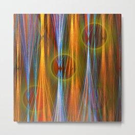 Mirthful, colourful abstract Metal Print