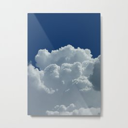Head in the clouds Metal Print