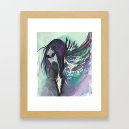 bakemono Framed Art Print
