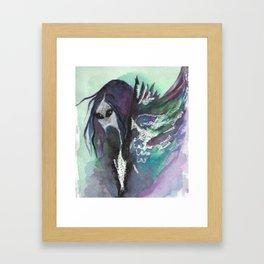 bakemono Framed Art Print