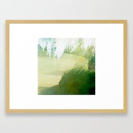 Shutter Test 2 Framed Art Print