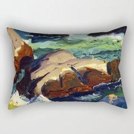 George Bellows Sun Glow Rectangular Pillow