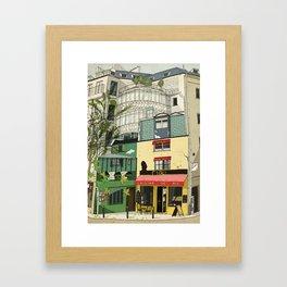 Cybel's Restaurant Framed Art Print