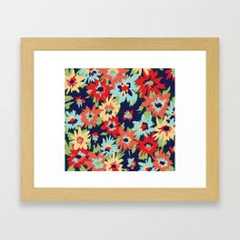 Alexa Floral Framed Art Print