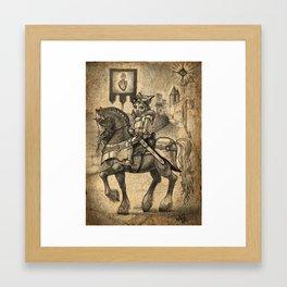 """The Quest"" Framed Art Print"