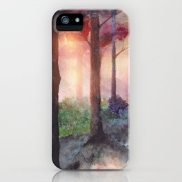 Into The Forest VII iPhone Case
