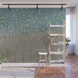 Trees, Earth and Sky Wall Mural