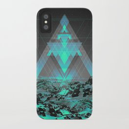 Neither Real Nor Imaginary II iPhone Case