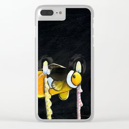 Impossible Fish Clear iPhone Case