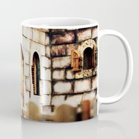 castle Mugs featuring Castle by Irène Sneddon