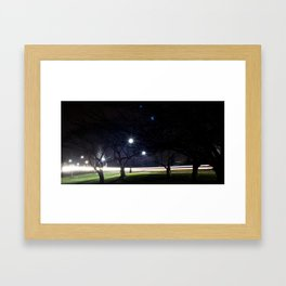 Ghosts In The Trees Framed Art Print