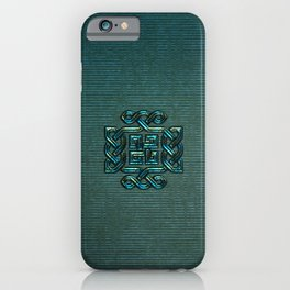 Elegant  celtic knot iPhone Case