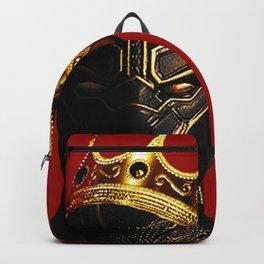 Black Panther King Wakanda Forever T'Challa Shirt Backpack