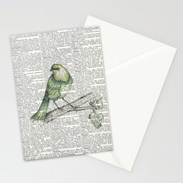 Green Is Cool Stationery Cards