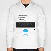posters Hoodies featuring Kitchen Posters - Rivotril/Maracuja by mvaladao