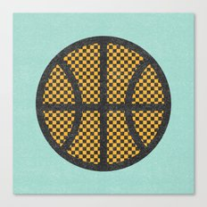 Op Art Basketball. Canvas Print