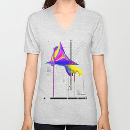 anomaly in sector KRC2496 Unisex V-Neck