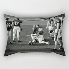 American Football players Rectangular Pillow