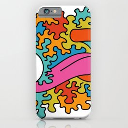 Psychedelic eye lick iPhone Case