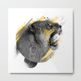 Panthera Lea Metal Print